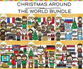 Christmas Around the World Clip Art Bundle