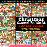Christmas Around the World Christmas Clip Art Bundle