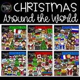 Christmas Around the World Clipart Bundle {Creative Clips