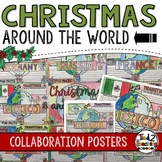 Christmas Around the World Collaborative Posters
