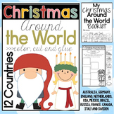 Christmas Around the World: color cut and paste 12 countries