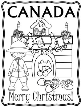 blackline christmas coloring pages - photo#7
