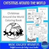 Christmas Around the World Coloring Book   Reproducible