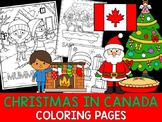 Christmas Around the World Coloring Pages - The Crayon Crowd - Canada