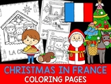 Christmas Around the World Coloring Pages - The Crayon Crowd - France