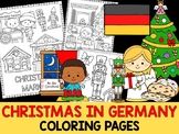 Christmas Around the World Coloring Pages - The Crayon Crowd - Germany