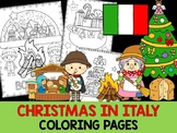 Christmas Around the World Coloring Pages - The Crayon Crowd - Italy