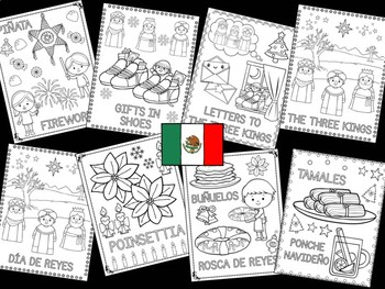 Christmas Around the World Coloring Pages - The Crayon Crowd - Mexico