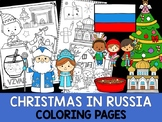 Christmas Around the World Coloring Pages - The Crayon Crowd - Russia