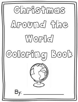 christmas coloring pages different countries | Christmas Around the World Coloring Sheets by Mrs Hooe | TpT