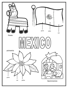 child around the world coloring pages | Christmas Around the World Coloring Sheets by Mrs Hooe | TpT