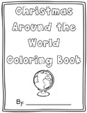 Christmas Around the World Coloring Sheets