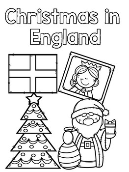 Christmas Around The World Coloring Sheets By Kerry Boles Tpt