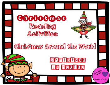 Christmas Around the World Comprehension-Task Cards, Scavenger Hunt