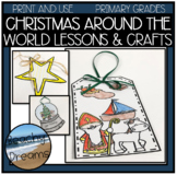 Christmas Around the World Crafts and Informative Coloring Pages
