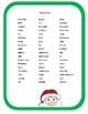 Christmas Around the World Crossword Puzzle