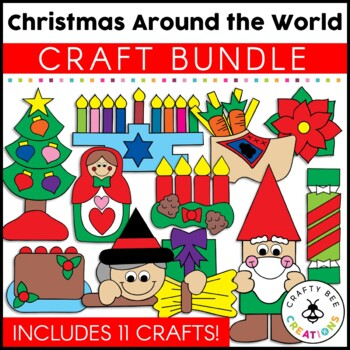 Christmas Around The World Crafts Bundle