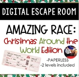 Christmas Around the World DIGITAL Escape Room: Amazing Race Breakout