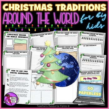 Christmas Traditions Around the World - GO PAPERLESS