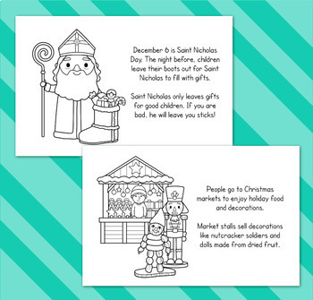 Christmas Around the World - Differentiated Mini Book BUNDLE