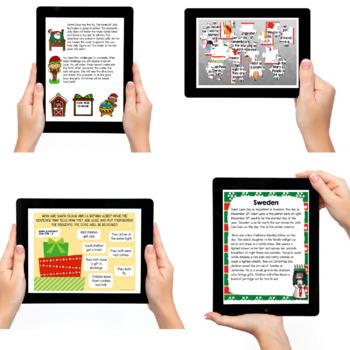 Christmas Around the World   Digital Breakout   Grades 2-3