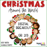 Christmas Around the World | Digital Breakout | Gr. 2-3 Di