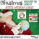 Christmas Around the World Digital Breakouts Bundle | Dist