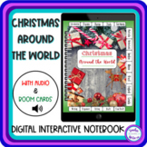 Christmas Around the World Digital Interactive Notebook with Audio & Boom Cards