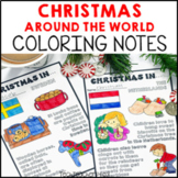 Christmas Around the World Coloring Notes