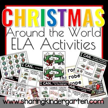 Christmas Around the World ELA Activities