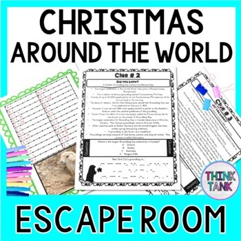 Christmas Around the World ESCAPE ROOM - December Fun - Traditions
