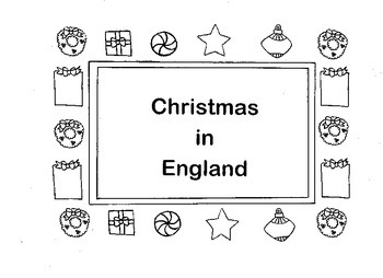Christmas Around the World England Christmas Card