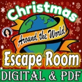 Christmas Escape Room Christmas Around the World Escape Game Activity