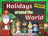 Christmas Around the World FREEBIE!