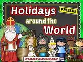 Holidays Around the World FREEBIE!