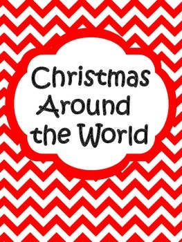 Christmas Around the World Facts Worksheet (works for any country)
