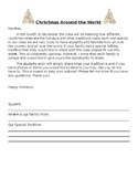 Christmas Around the World - Family Note