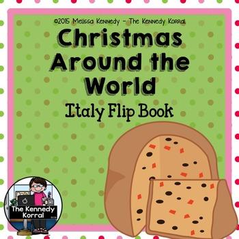 Christmas Around the World - Italy - {Flip Book}