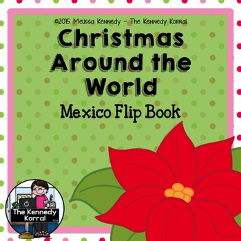 Christmas Around the World - Mexico - {Flip Book}