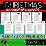 Christmas Around the World Fluency Passages & Comprehension Activities {Grade 3}