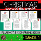 Christmas Around the World Fluency Passages & Comprehension Activities {Grade 3}