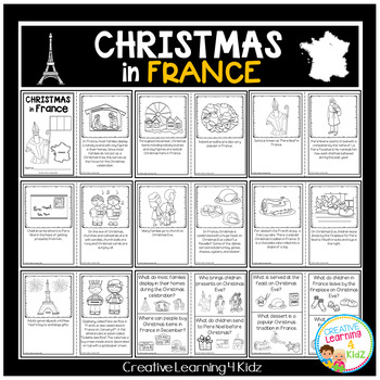 Christmas Around the World: France Book