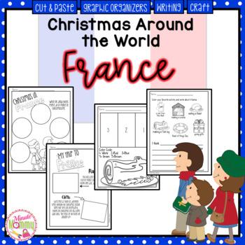 Christmas Around the World: France Scrapbook