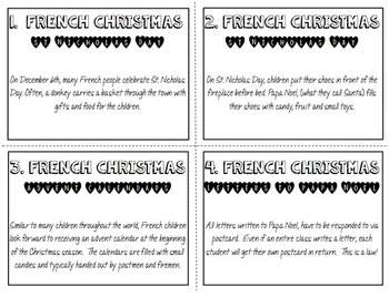 Christmas Around the World: France ~ Student-Led Presentation and Writing
