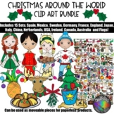 Christmas Around the World Clip Art Growing Bundle