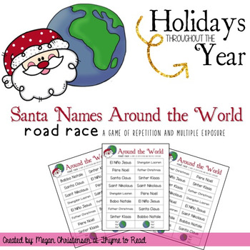 Christmas Around the World Game