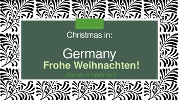 Christmas Around the World: Germany