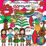 Christmas Around the World- Hawaii Clip Art- Chalkstar Graphics