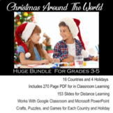 Christmas Around the World Includes Digital for Distance Learning