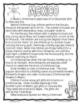 Christmas Around the World Informational Texts
